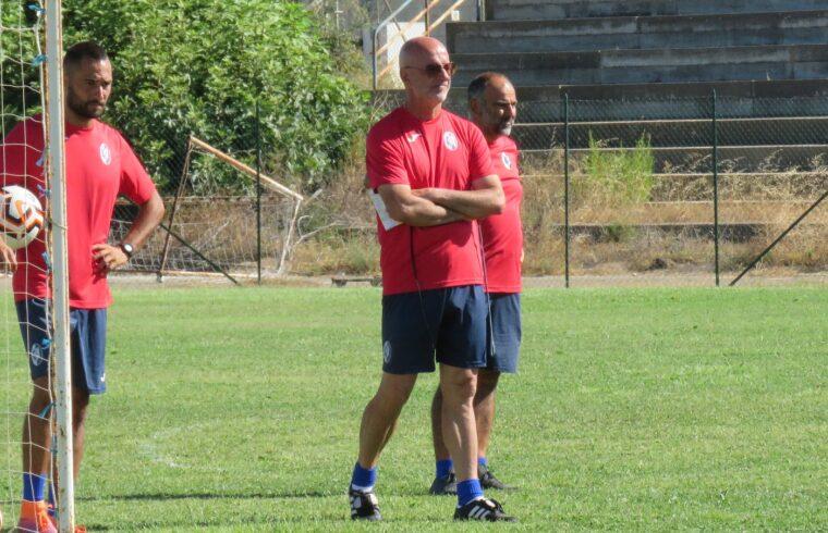 Marco Mariotti in allenamento