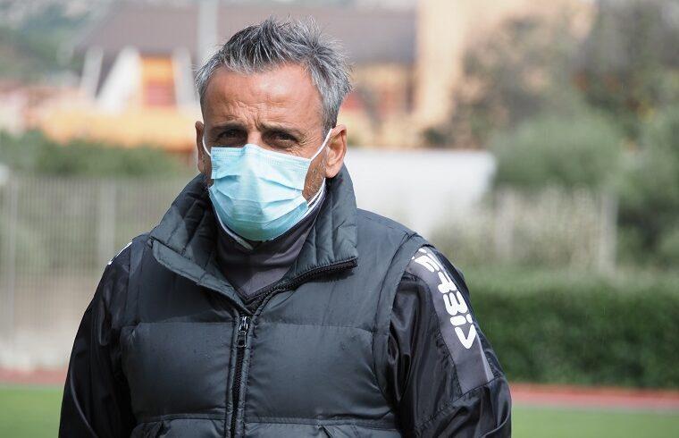 Raffaele Cerbone, mister dell Arzachena | Foto Arzachena Calcio