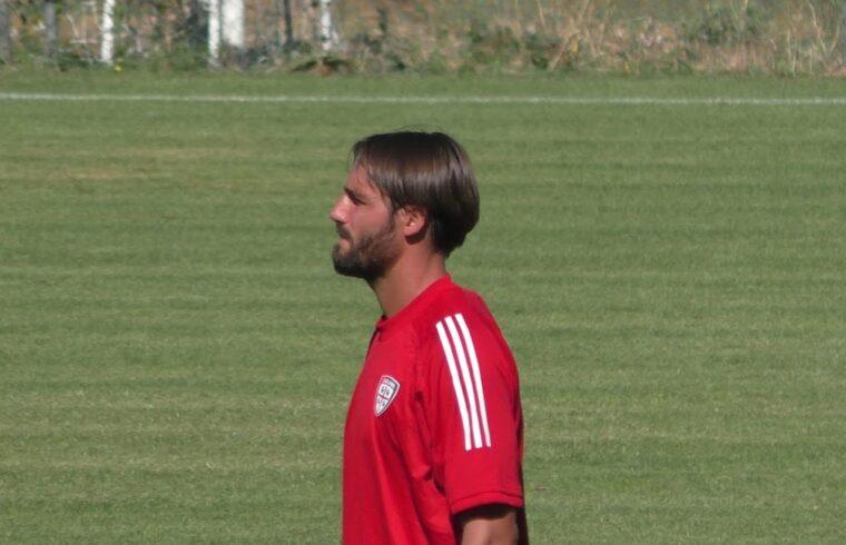 Leonardo Pavoletti nel ritiro di Aritzo