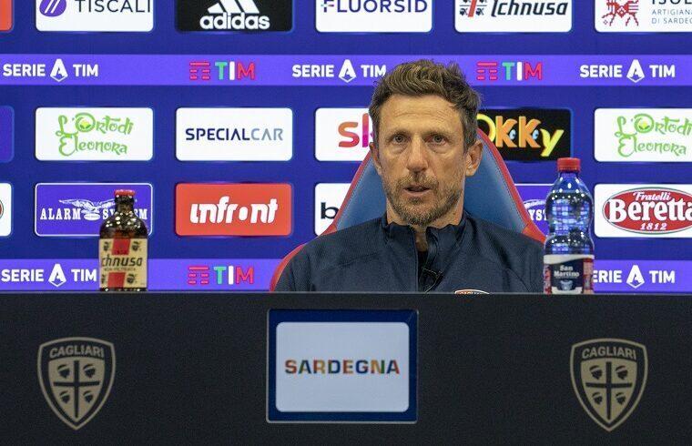 Eusebio Di Francesco | Foto Valerio Spano - Cagliari Calcio