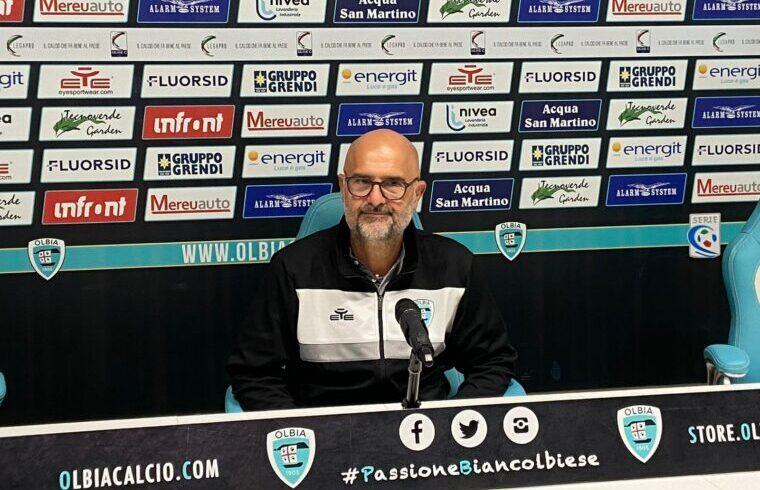 Max Canzi, allenatore dell Olbia