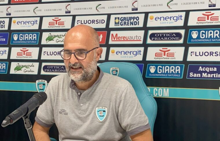Max Canzi in conferenza stampa