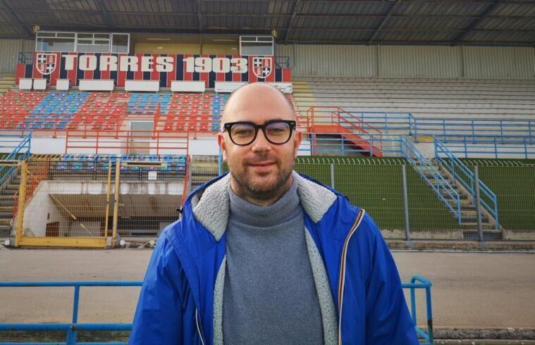 Alessandro Degli Esposti, nuovo DS della Torres | Foto Torres Calcio