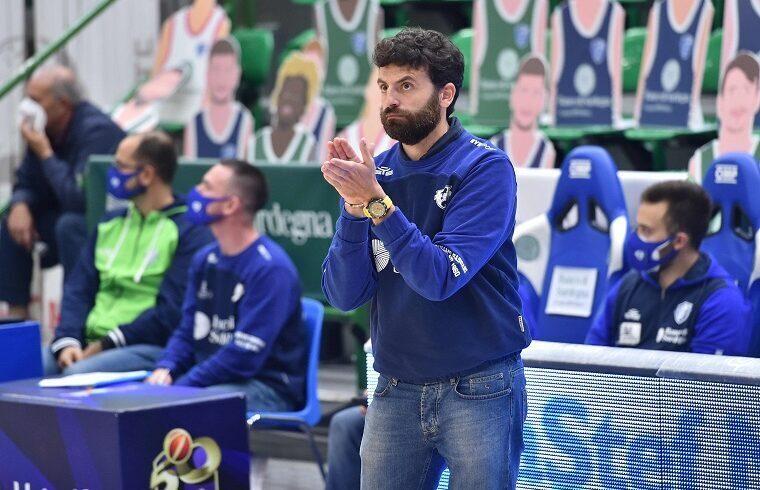 Edoardo Casalone, assistant coach del Banco di Sardegna | Foto Luigi Canu