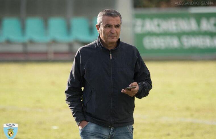 Roberto Fresu presidente del Sassari calcio Latte Dolce