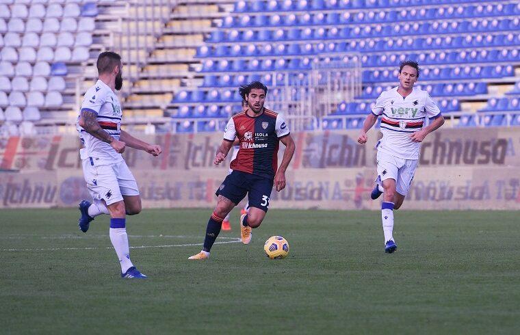 Riccardo Sottil contro la Sampdoria | Foto Emanuele Perrone