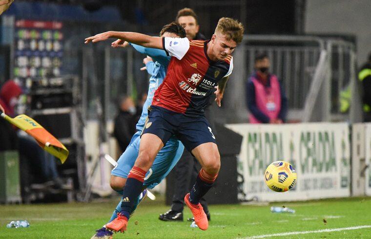 Alessandro Tripaldelli contro lo Spezia | Foto Alessandro Sanna