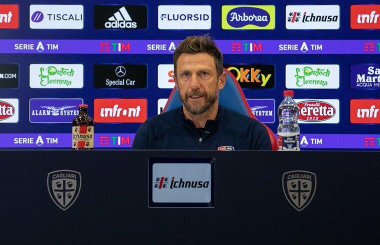 Eusebio Di Francesco | Foto Cagliari Calcio - Valerio Spano