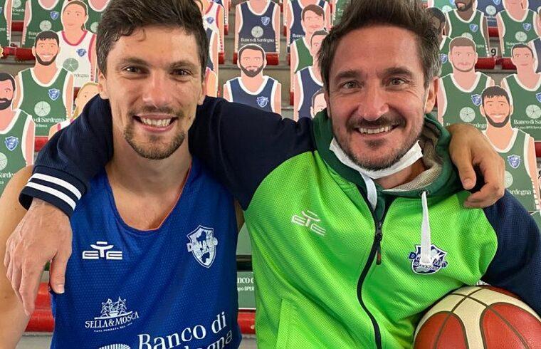 Toni Katic e Gianmarco Pozzecco, di nuovo insieme dopo il periodo al Cedevita | Foto Dinamo Sassari