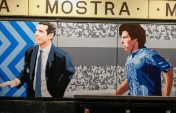 Il murales di Zola e Bigon | Foto Passione Stadi