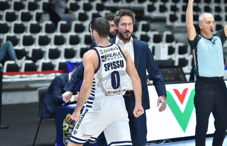Marco Spissu e Gianmarco Pozzecco | Foto Luigi Canu