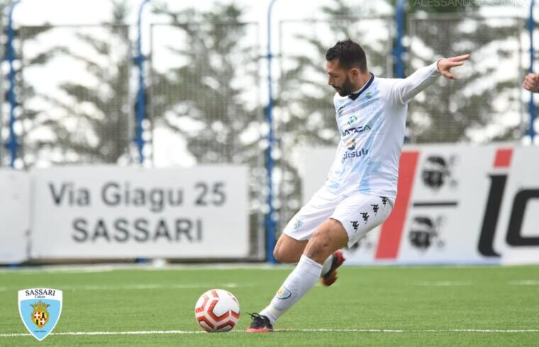L'attaccante Gigi Scotto | Foto Alessandro Sanna