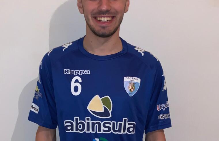 Mattia Fadda, nuovo giocatore del Latte Dolce
