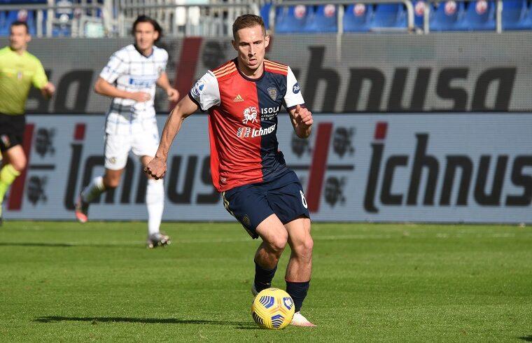 Marko Rog in Cagliari-Inter | Foto Alessandro Sanna