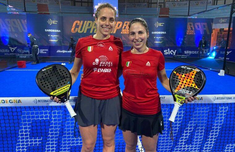 Chiara Pappacena e Giulia Sussarello