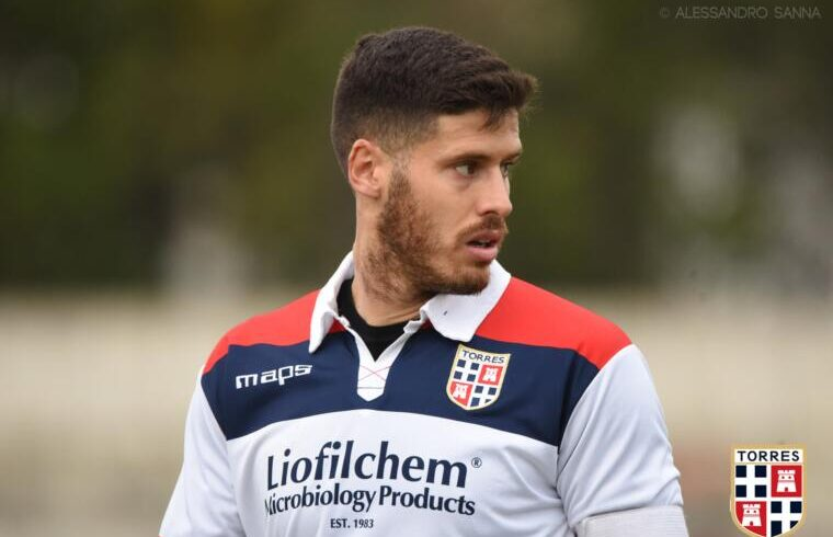 Antonio Mesina, attaccante della Torres | Foto Alessandro Sanna