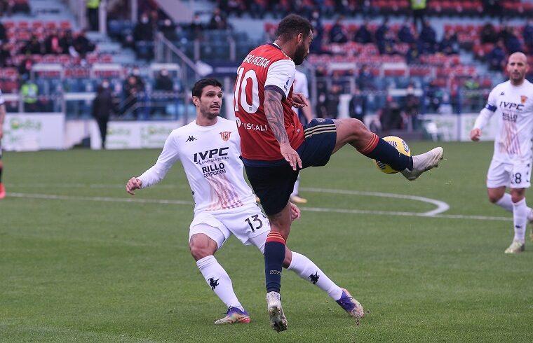 Joao Pedro nell'ultima partita con il Benevento | Foto Emanuele Perrone
