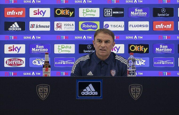 Leonardo Semplici | Foto Valerio Spano - Cagliari Calcio