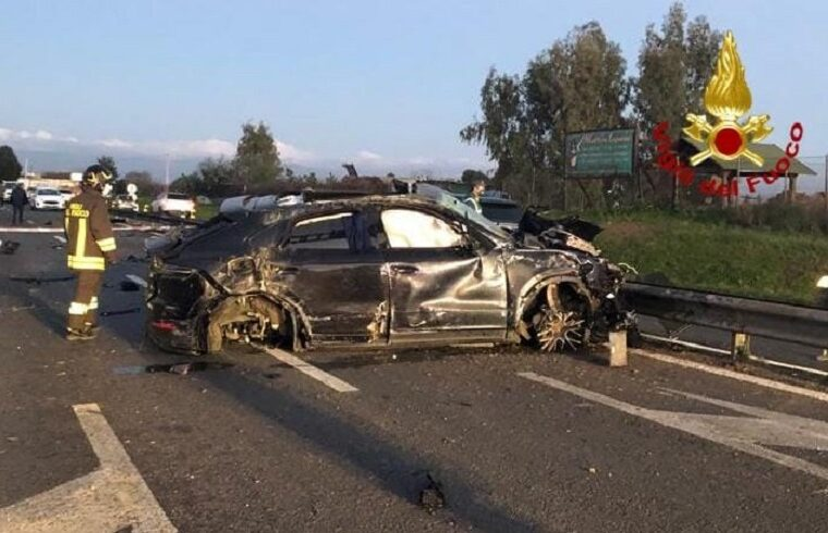 L'immagine dell'incidente | Foto YouTg