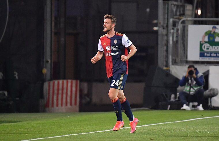 Daniele Rugani esulta dopo il gol al Bologna | Foto Luigi Canu