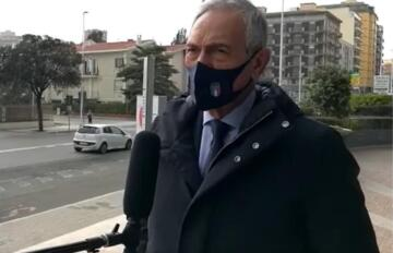 Gabriele Gravina a Cagliari