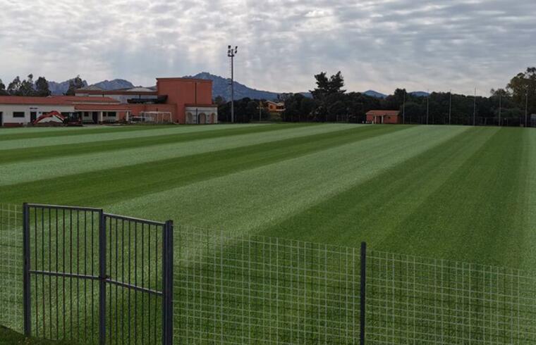 Il rendering della struttura sportiva del Luigi Orecchioni