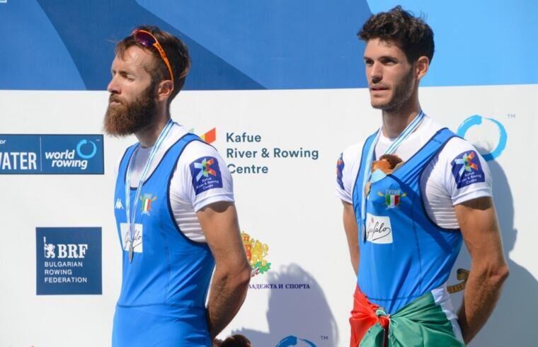 Stefano Oppo e Pietro Ruta sul podio