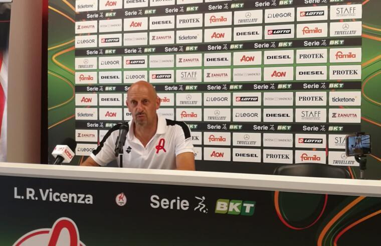 Domenico Di Carlo, tecnico del Vicenza