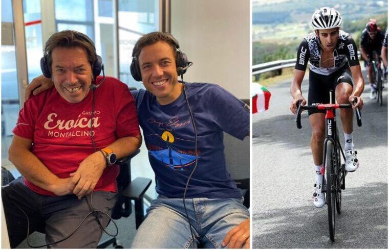 La coppia di telecronisti di Eurosport, Luca Gregorio (a dx) e Riccardo Magrini