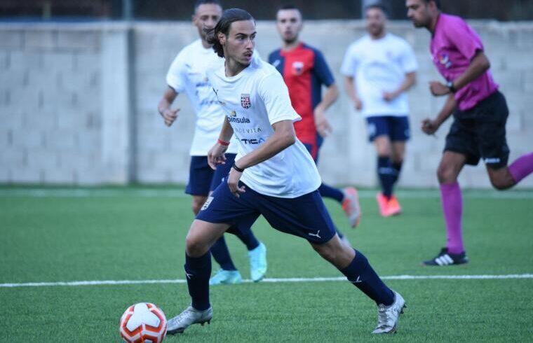 Jacopo Turchet, esterno sinistro della nuova Torres   Foto Alessandro Sanna