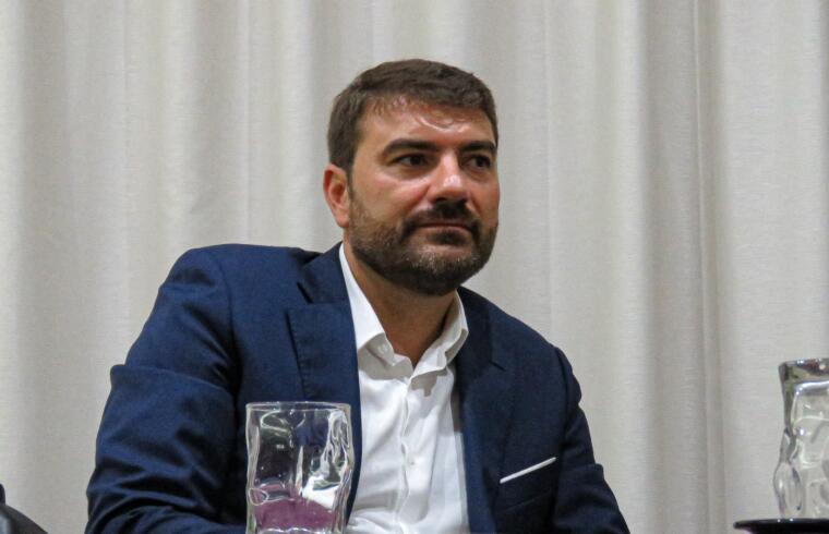 Daniele Arras, presidente del Lanusei   Foto Centotrentuno