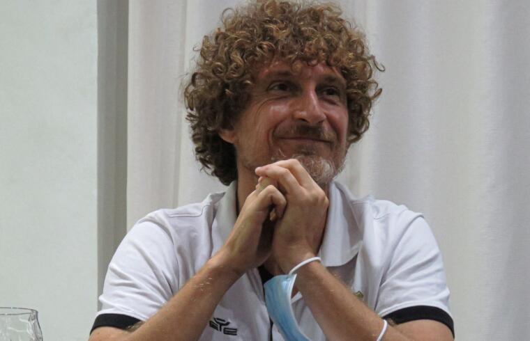Stefano Campolo, tecnico del Lanusei   Foto Centotrentuno