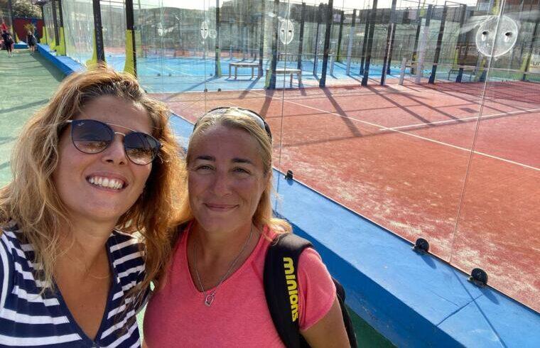 Claudia Cuccu e Paola Pintor, impegnate nel Fip Star di Cagliari