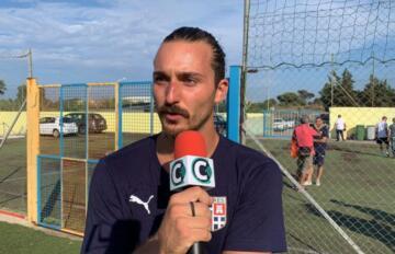 Alessandro Masala, centrocampista della Torres | Foto Centotrentuno