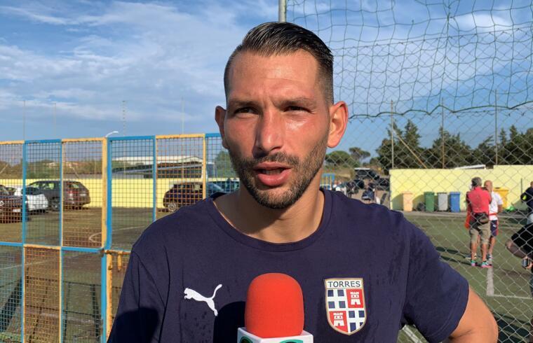 Gigi Scotto, capitano della Torres   Foto Centotrentuno
