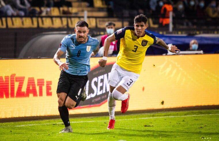 La grinta di Nandez contro l'Ecuador | Foto AUF