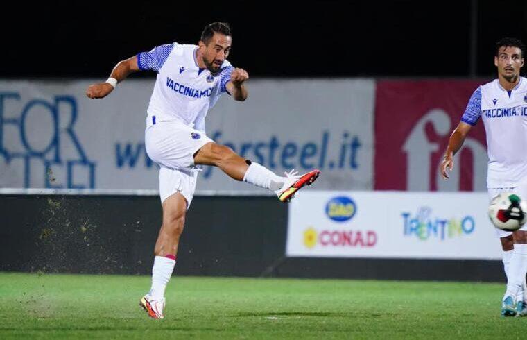 Andrea Cocco con la maglia del Seregno | Foto Facebook Seregno Calcio