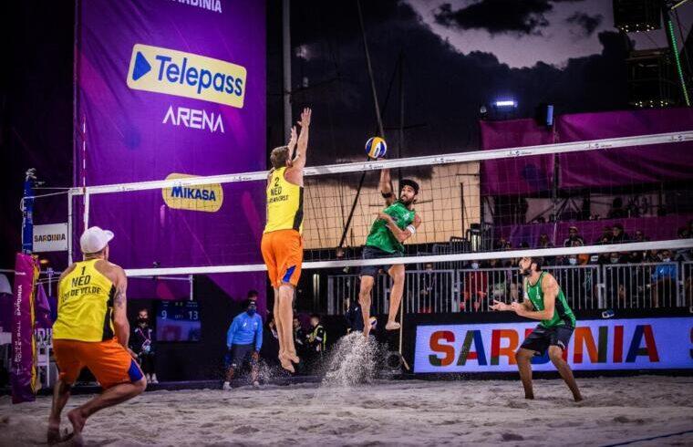 Un attacco di Daniele Lupo durante la finale per il terzo posto | Foto World Tour
